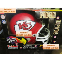 Mini Casco Nfl Fibra Optica Riddell Kansas City Chiefs