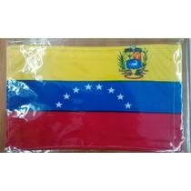 Bandera De Venezuela .90x1.58 Mts Poliester Satinado