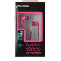 Audífonos Manos Libres Estéreo Universal Mh-0030pk Rosa