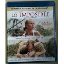 Lo Imposible ( Bluray ) Naomi Watts, Nuevo