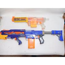 Lote 2 Pistolas Nerf Recon Retalitor 83-52cm Largo E223