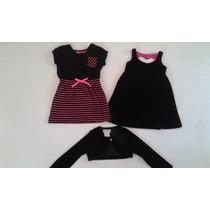 2 Vestidos Americanos Y Torerita Talla 5 Años