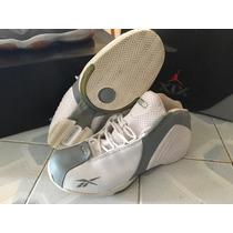 Tenis Reebok Rbk Basketball 8.5mx Gris Y Blanco Nike Jordan