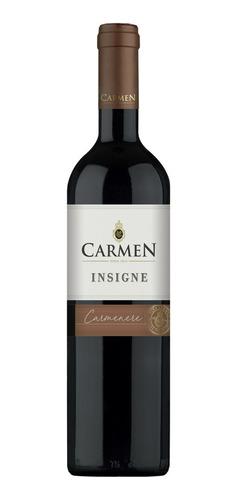 Vino Tinto Carmen Insigne Carmenere 750ml