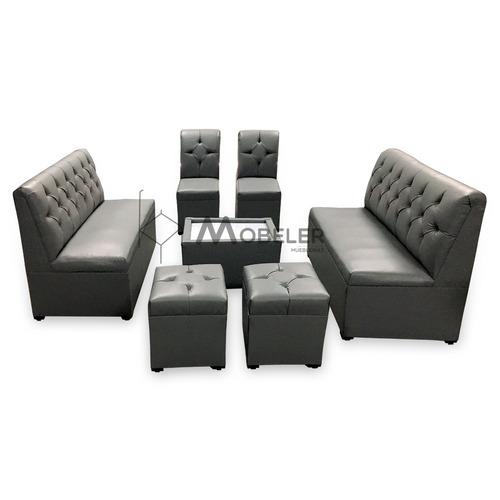 Sala lounge vintage minimalista moderna sillones for Precio de salas modernas