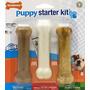 Nylabone Sólo Para Cachorros Kit De Iniciación De Hueso De P