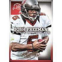 2013 Absolute Football Josh Freeman Tampa Bay Buccaneers Qb