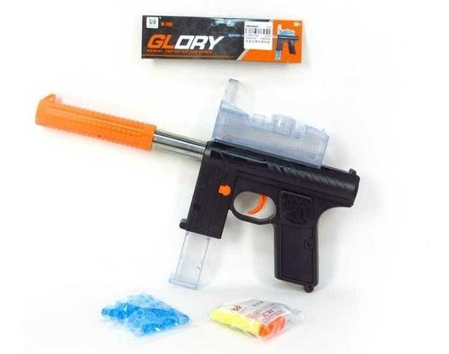 Pistola 400 Orbeez Hidrogel Cargador Gotcha Niños
