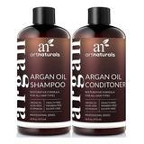 Argan Shampoo Moroccan Acondicionador Artnaturals + Aceite