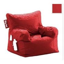 Big Joe Dorm Bean Bag Presidente Color: Rojo Ají