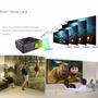 Mini Proyector Led 800 Lum. 1080 P. Hd, Cine, Teatro Multim.