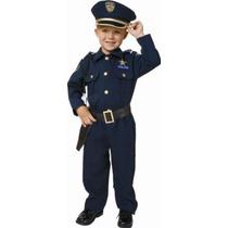 Unisex Policía Disfraz Niño