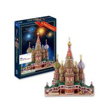 Catedral San Basilio Puzzle Rompecabezas 3d