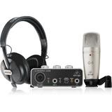Interfase, Microfono C1 Y Audifonos Behringer Uphoria Studio