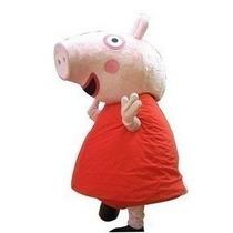 Botarga Disfraz Tamaño Adulto Cerdo Peppa Pig Fn4