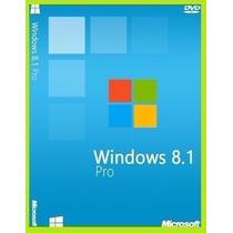 Windows 8.1 Pro 32/64 Bit 1 Pc Licencia Original Electronica