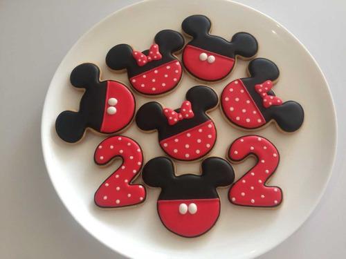 Galletas Decoradas Mickey Mouse Minnie Fiestas Infantiles En