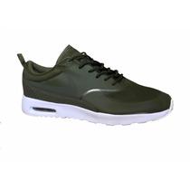 de1a95523482b Tenis Nike Air Max Thea Verde Militar en venta en Vicente Villada ...