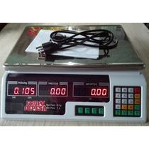 Bascula Digital 40kg Bateria Recargable Garantizada