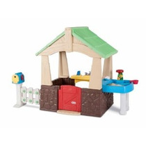 Little Tikes Deluxe Casa Y Jardín Playhouse