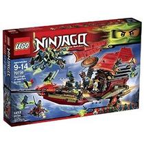 Lego Ninjago 70738 Vuelo Final Del Kit Bounty Edificio De De