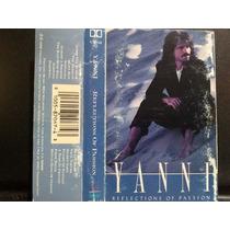 Yanni Reflections Of Passion Cassette Usado 1ra Ed 1990 Usa