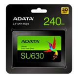 Adata Disco Duro Solido Ssd Sata Laptop Pc 240gb Su630