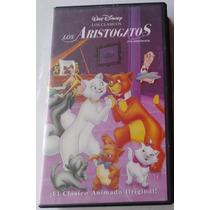 Los Aristogatos Vhs Videovisa De Coleccion En Español Latino