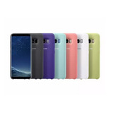 Funda Samsung Silicon + Mica S7 Edge S8 S9 S10 Note 8 9 10 M10 M20 M30 A10 A20 A30 A50 A70 A80