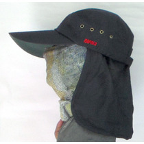 Gorra Rapala Con Proteccion Solar En Cuello Checa El Video