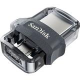 Memoria Usb 16gb Sandisk Dual Otg Usb 3.0 A Micro-usb Retractil