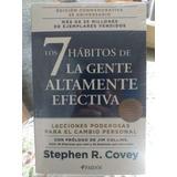 Libro Los 7 Habitos De La Gente Altamente Efectiva