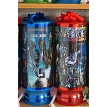 Transformers Centros De Mesa Lamparas Personalizadas 1regalo