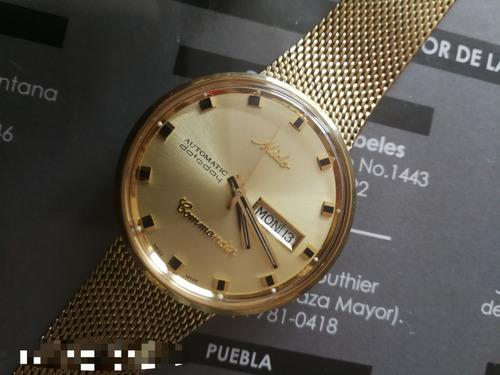0410b0623f3d Remato !! Reloj Mido Commander Oro en venta en Metepec Estado De ...