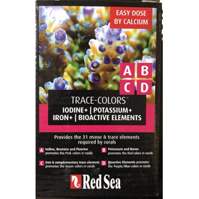 Red Sea orfeón Colors A B C D 4x100 Ml Trace