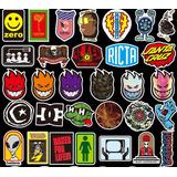 Punk Skate 100 Calcomanias Stickers Pvc Contra El Agua E Gra