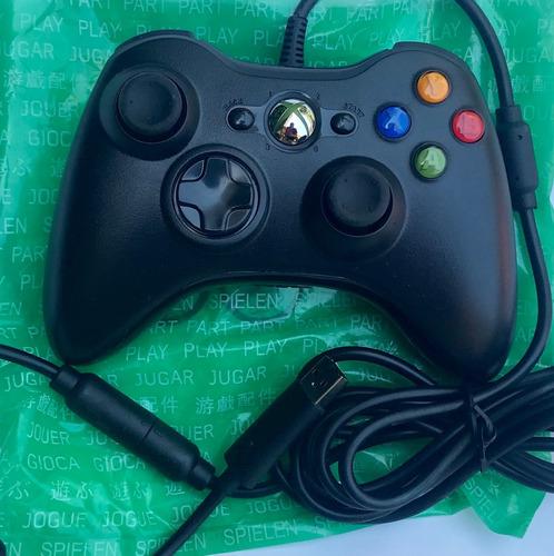Lote 4 Controles Xbox 360 Alambricos Originales Nuevos