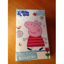 Peppa Pig Agua De Tocador Lociones Corporales Perfumes Niñas