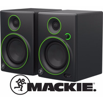 Monitores Estudio Mackie Cr4 Par Amplificados Winners