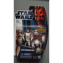 Clone Commander Cody Star Wars Movie Heroes Hasbro 2012