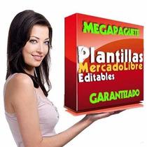Plantillas Editables Mercadolibre Plantillas Mercado Libre