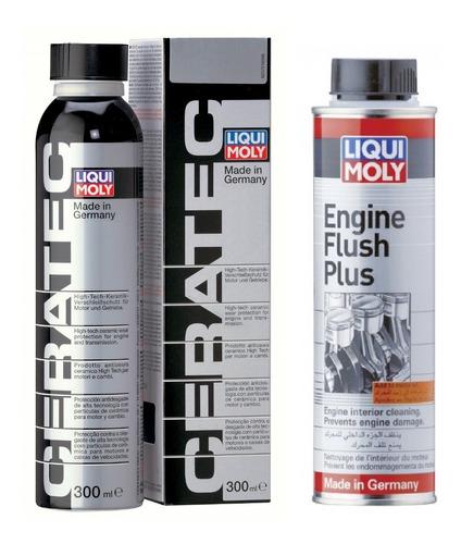 Ceratec Y Engine Flush Plus Liqui Moly Lavado Cuidado Motor