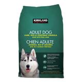 Alimento Kirkland Signature Super Premium Perro Adulto Todos Los Tamaños Cordero/arroz/vegetales 18kg