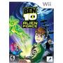 Ben 10 Alien Force - Nintendo Wii (joyero)