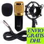 Micrófono Condensador Bm800 Bm-800 Estudio - Podcast - Canto