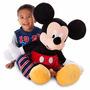 Mickey 90cm Gigante Importado  Disney Store Juguete Peluche