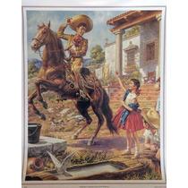 Despedida Campestre Poster Tradicion Mexicano Jesus Helguera