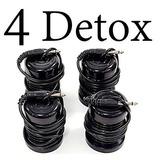 4 Arrays Detox Ion Baño Purifica Cuerpo Spa Pies Xto