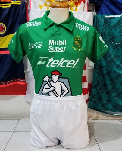 4eb0dff6e23c8 10 Uniformes De Futbol Leon Local 2019 Dri-fit