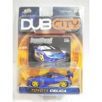 Jada Dub City Toyota Celica Azul #39 1:64 2003